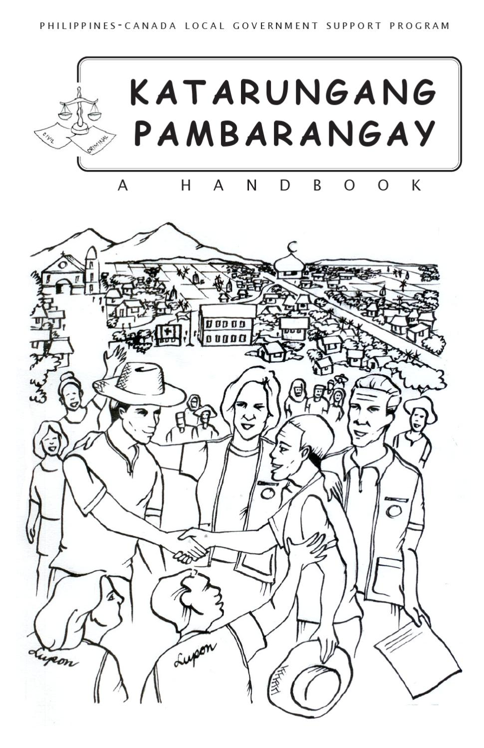 Katarungang Pambarangay (English) by Local Governance