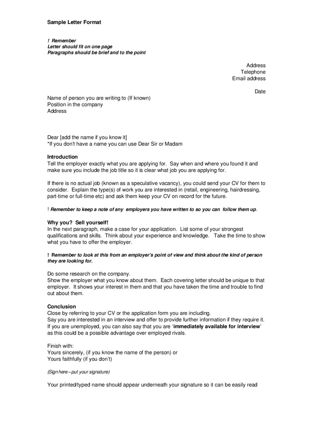 Covering letter example by Prospects Services Ltd  Issuu