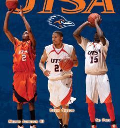 2010 11 utsa men s basketball media guide by utsa athletics communications issuu [ 1159 x 1500 Pixel ]