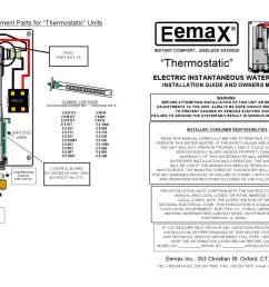 manual del usuario boiler de paso electrico 9 5 kw 220v con termostato para 1 regadera mod ex95t by h2o tek s a de c v issuu [ 1500 x 1159 Pixel ]