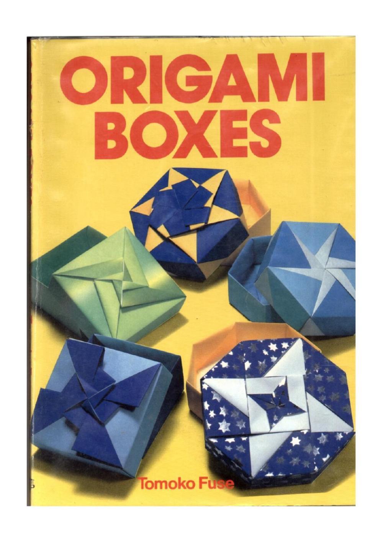 medium resolution of tomoko fuse origami boxes