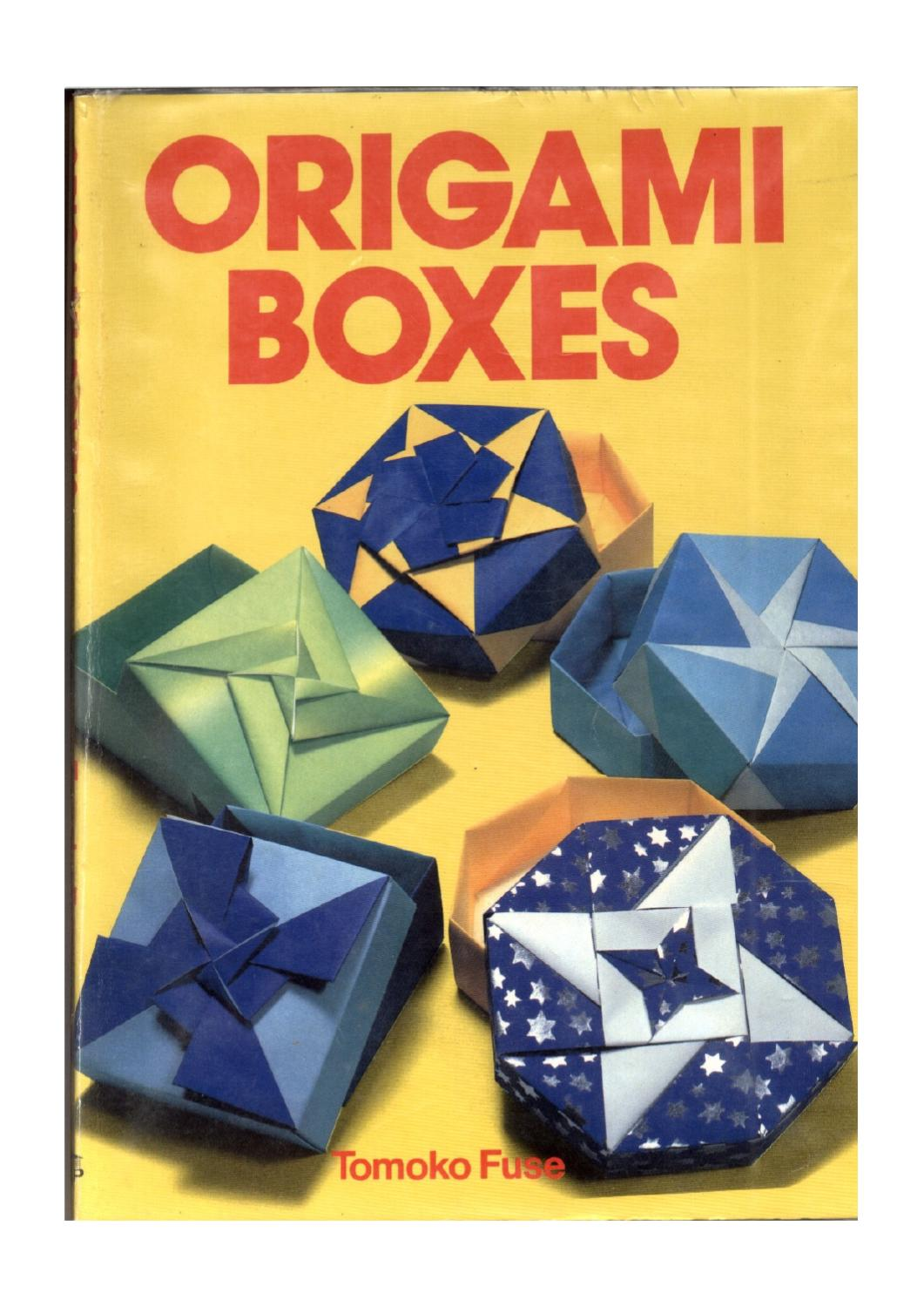 hight resolution of tomoko fuse origami boxes