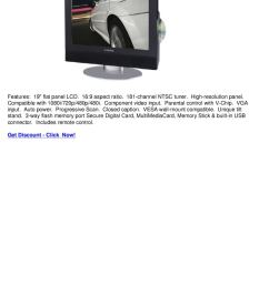 audiovox fpe1906dv 19 lcd tv with built in dvd player widescreen [ 1060 x 1500 Pixel ]