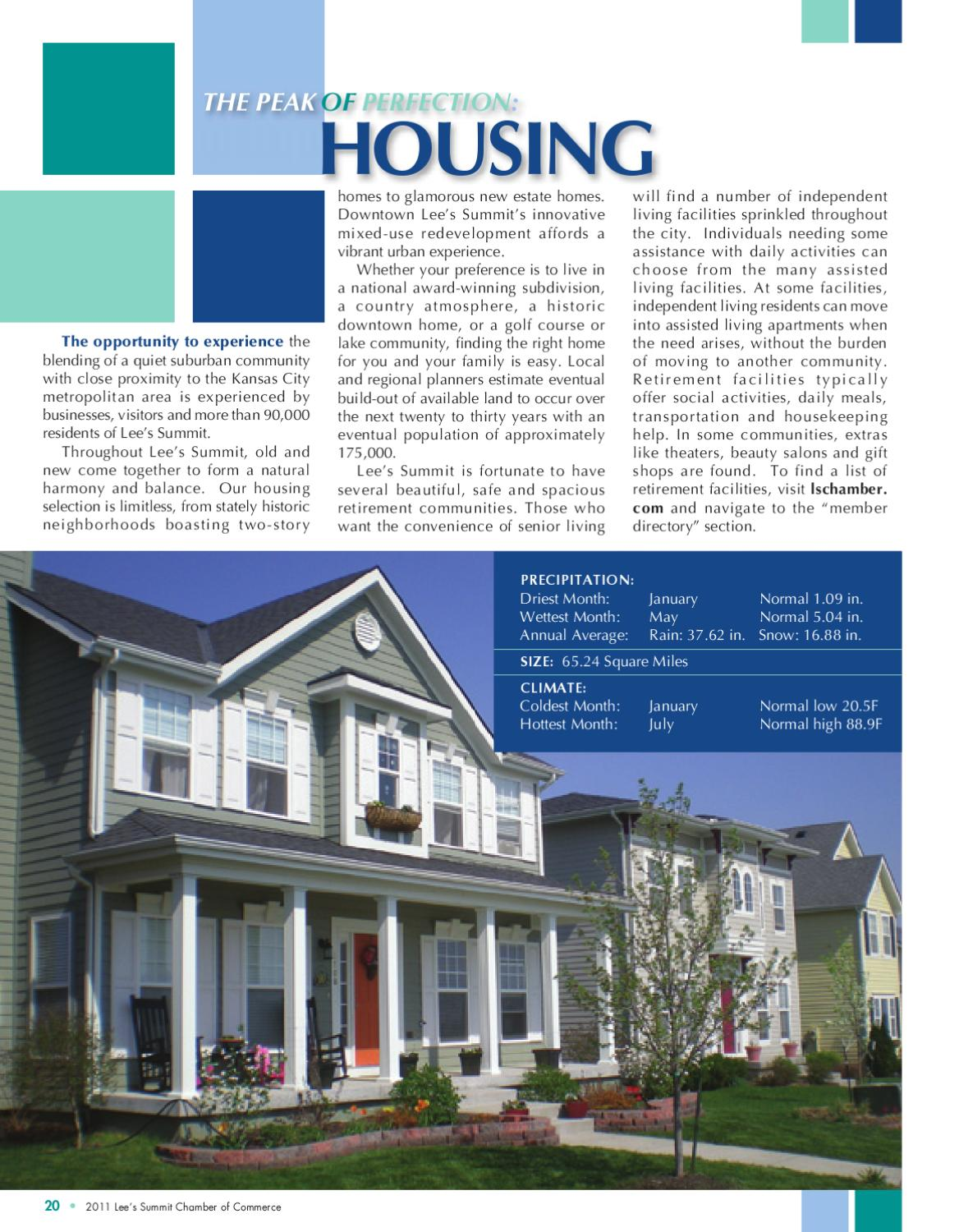 hight resolution of 2011 lee s summit community profile by lee s summit chamber of commerce issuu