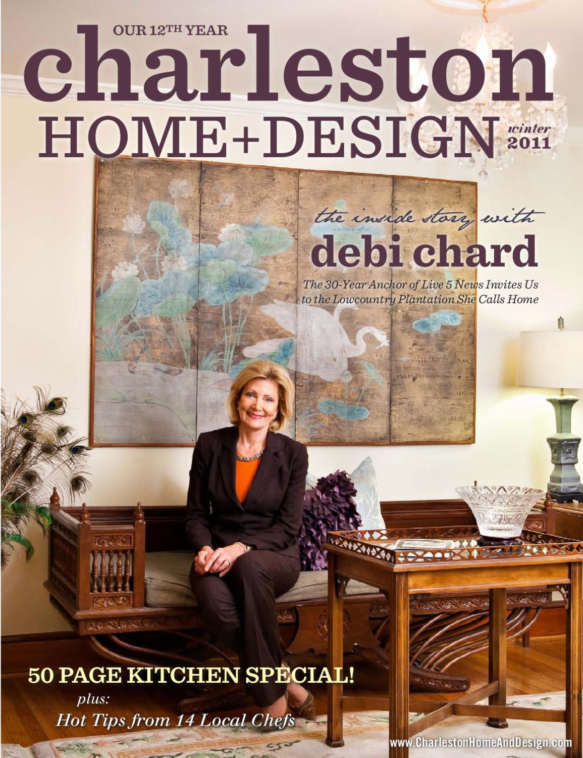 Charleston Home Design Magazine Winter 2011 By Charleston Home