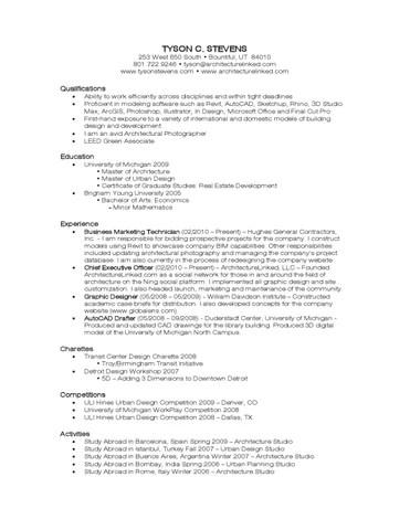 Resume 2010 by Tyson Stevens - issuu
