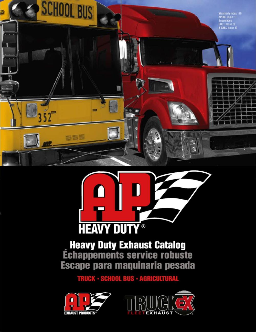 medium resolution of  aphdc hd exhaust catalog from ap exhaust