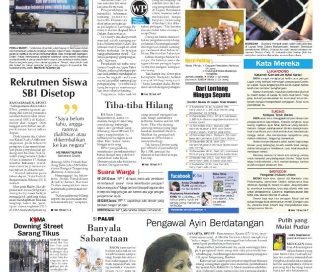 Banjarmasin Post Edisi Kamis  By Banjarmasin Post Issuu