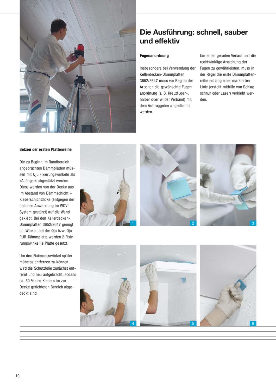 Qju-Up Kellerdeckendämmung Und Dachbodendämmung By Brillux - Issuu