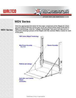 Waltco WDV Series Liftgate by THE Liftgate Parts Co  Issuu