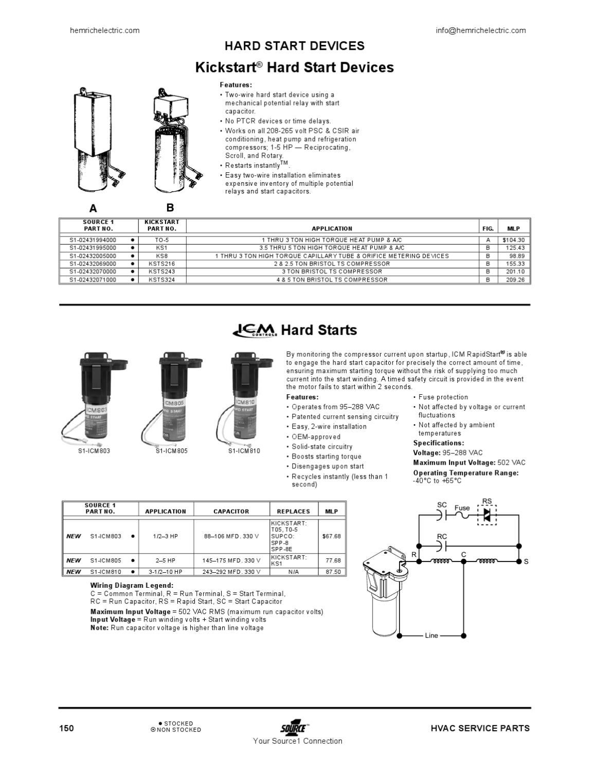 hard start capacitor wiring diagram enclosed trailer kickstart seat