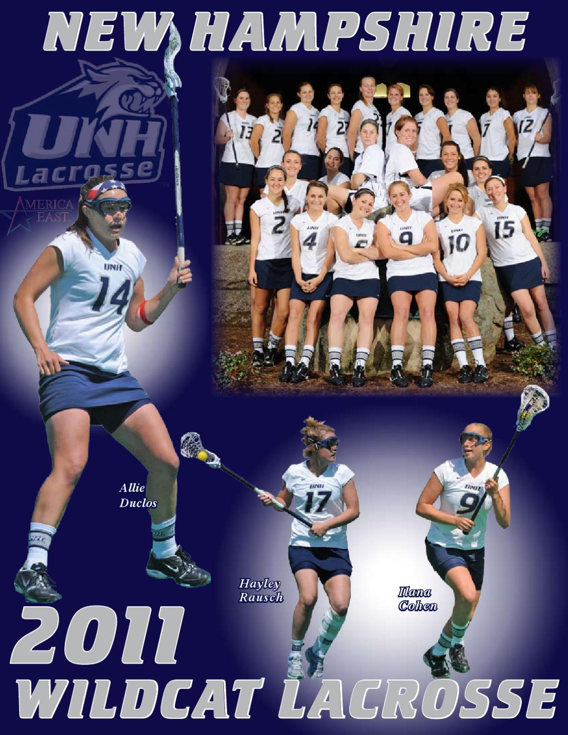 UNH Womens Lacrosse 2011 Media Guide by University of New Hampshire Athletics  Issuu