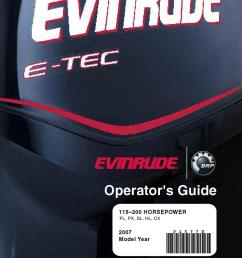 2007 evinrude e tec 115 200hp operator guide 215770e by liquid nirvana issuu [ 1056 x 1500 Pixel ]