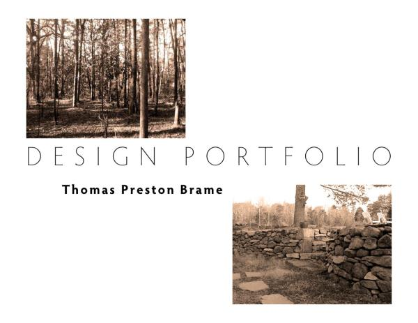 Landscape Architecture Student Portfolio Examples - Year of Clean Water