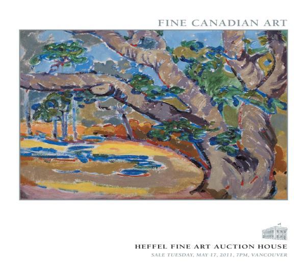 Fine Canadian Art 17 2011 Heffel Auction