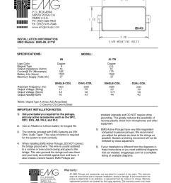 pick up para guitarra electrica emg 89 manual sonigate by sonigate issuu [ 1159 x 1500 Pixel ]