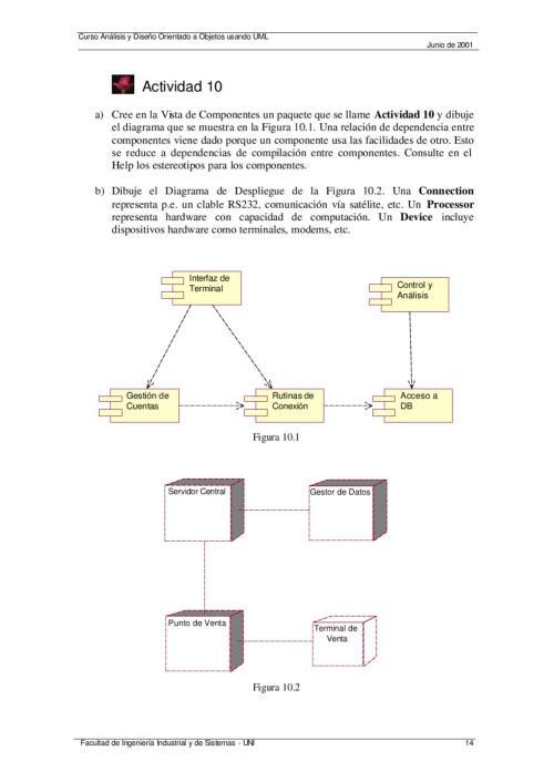 small resolution of an lisis y dise o de sistemas con uml ejercicios en rational rose by omar torres issuu