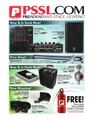 pssl catalogs by pssl com prosound