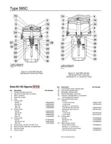 585C Actuator Manual Instruction Manual by RMC Process