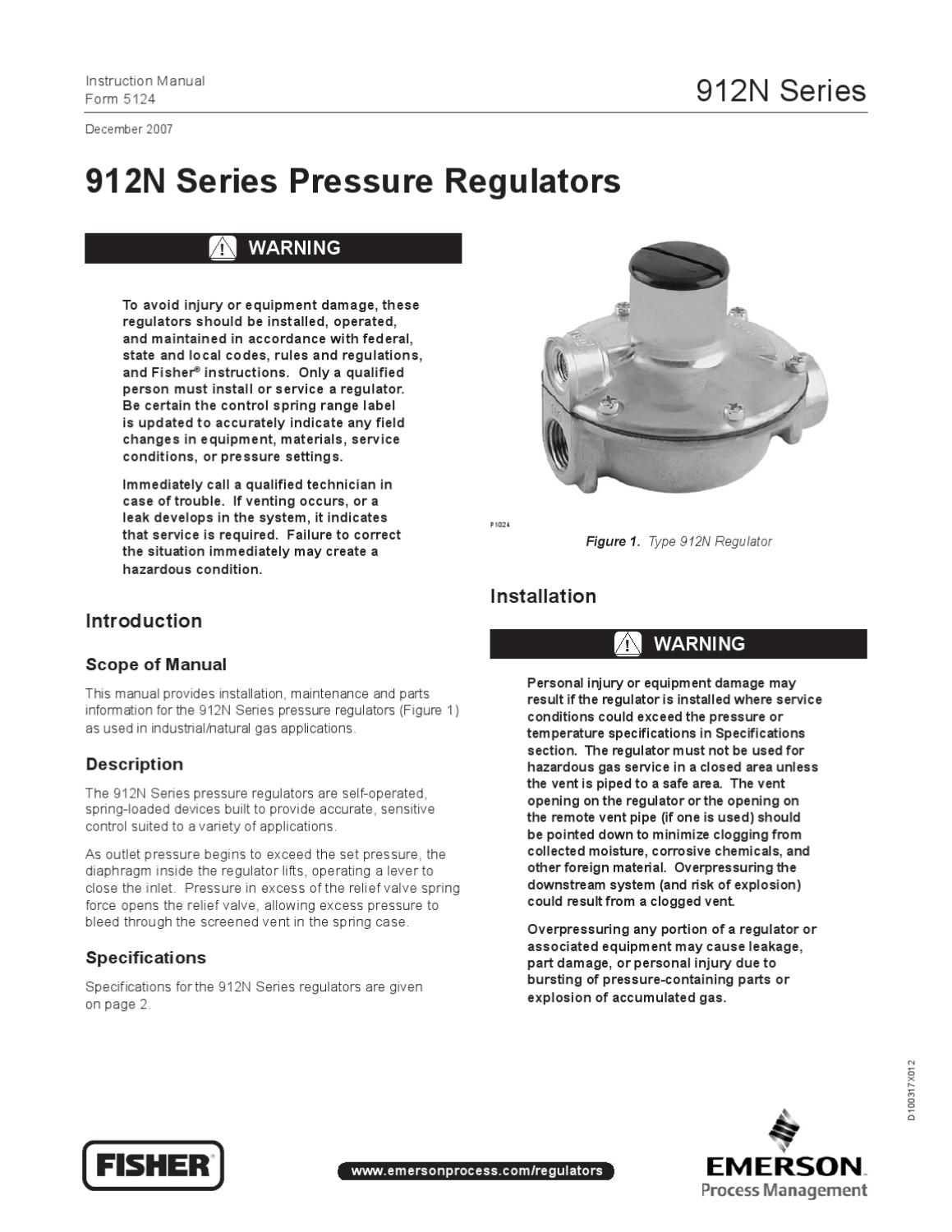 912 Instruction Manual by RMC Process Controls