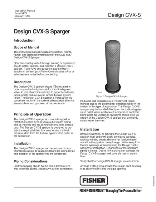 small resolution of cvx s sparger instruction manual by rmc process controls filtration inc issuu