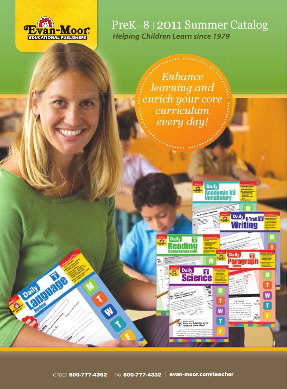 medium resolution of August 2011 Catalog by Evan-Moor Educational Publishers - issuu