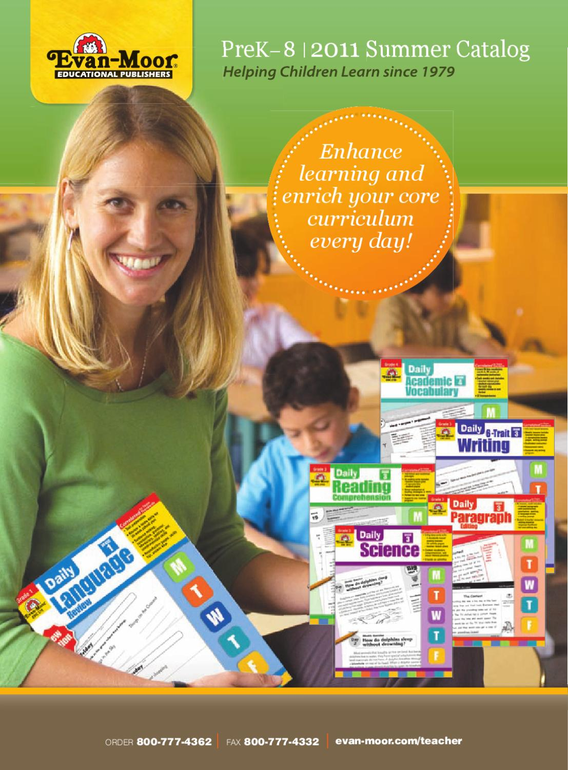 hight resolution of August 2011 Catalog by Evan-Moor Educational Publishers - issuu