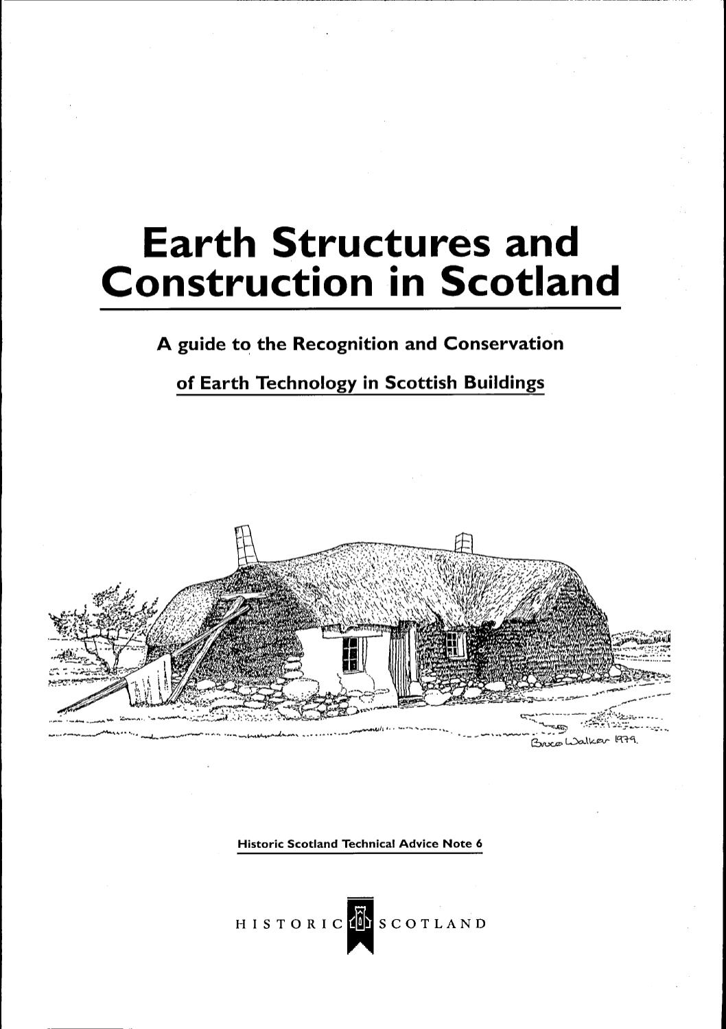 TAN 06- EARTH STRUCTURES AND CONSTRUCTION IN SCOTLAND by