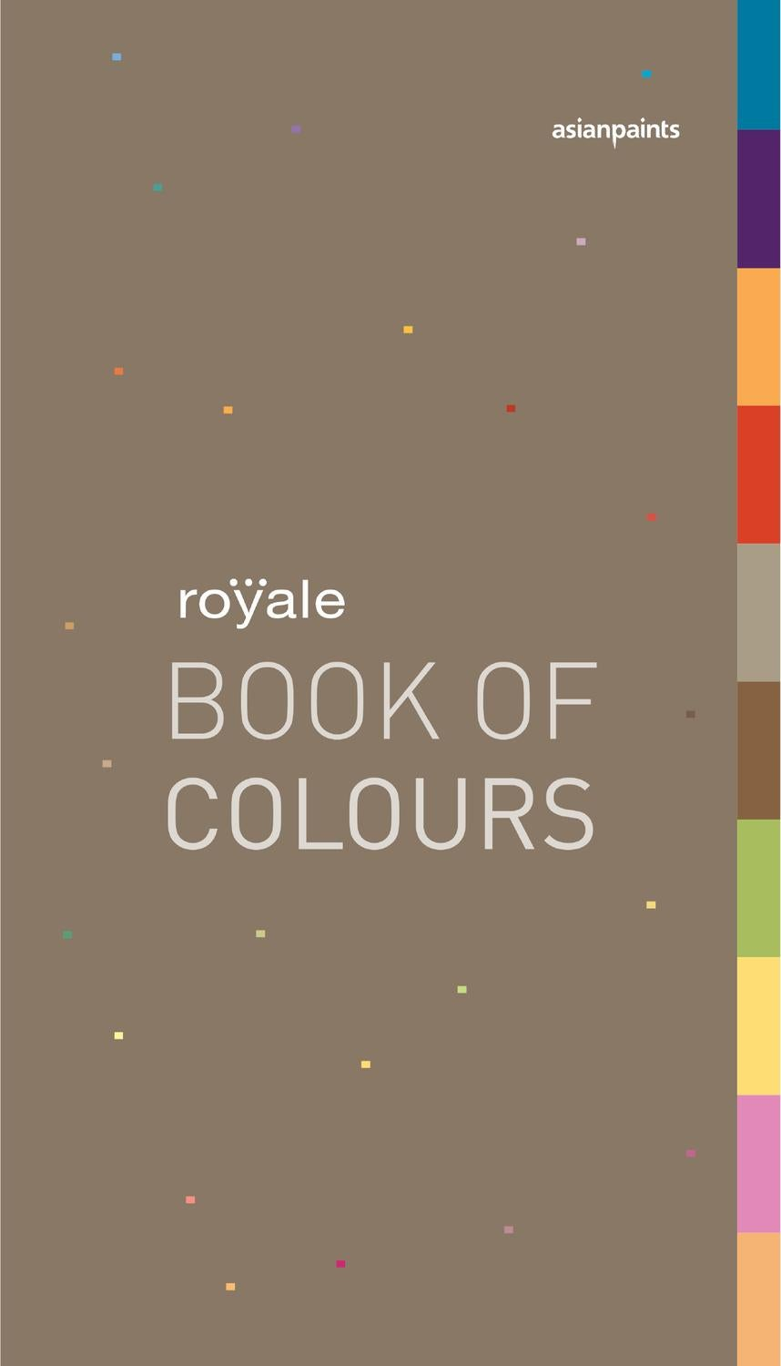 Royale Book of Colours by Asian Paints Limited  Issuu