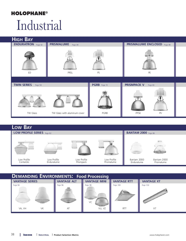 hight resolution of holophane indoor product catalog alcon lighting issuu jpg 1159x1500 holophane bantam