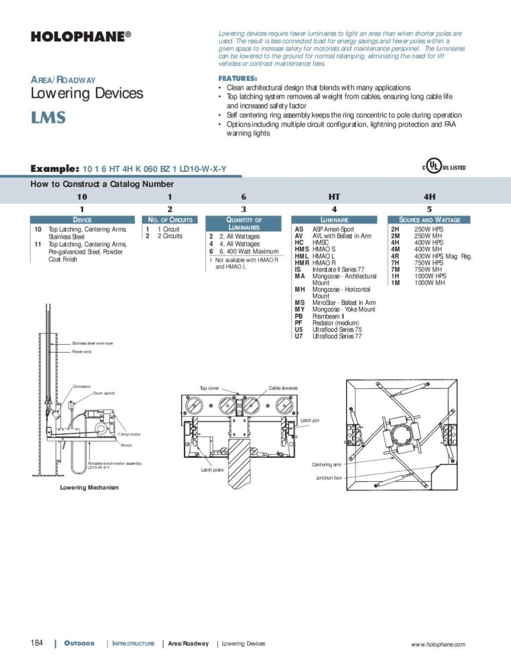 medium resolution of holophane outdoor product catalog