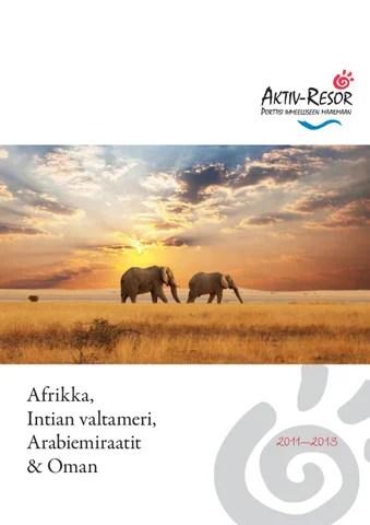 Aktiv Resor Mainstream Africa 2011 2012 By Koolivoo Issuu