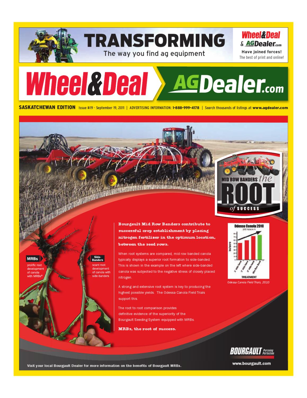 hight resolution of wheel amp deal saskatchewan september 19 2011 by farm business communications issuu