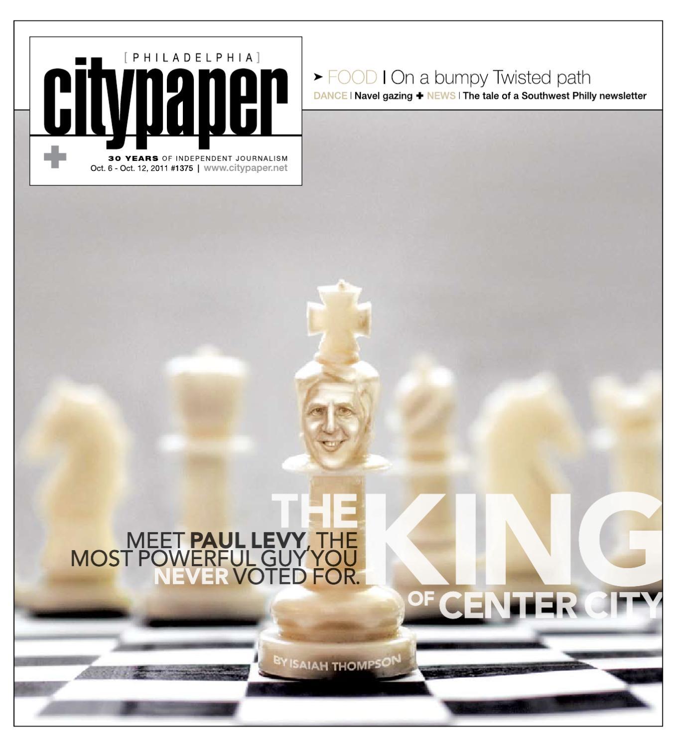 Philadelphia City Paper, October 6Th, 2011 By Philadelphia City Paper -  Issuu