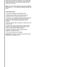 tadpole hot tub owners manual 2003 by envirosmarte hot tubs swim spas issuu [ 1159 x 1500 Pixel ]