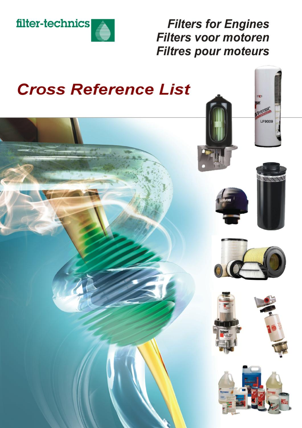 hight resolution of marine fuel filter cros reference