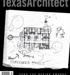texas architect sept oct 2002 design awards [ 1266 x 1500 Pixel ]