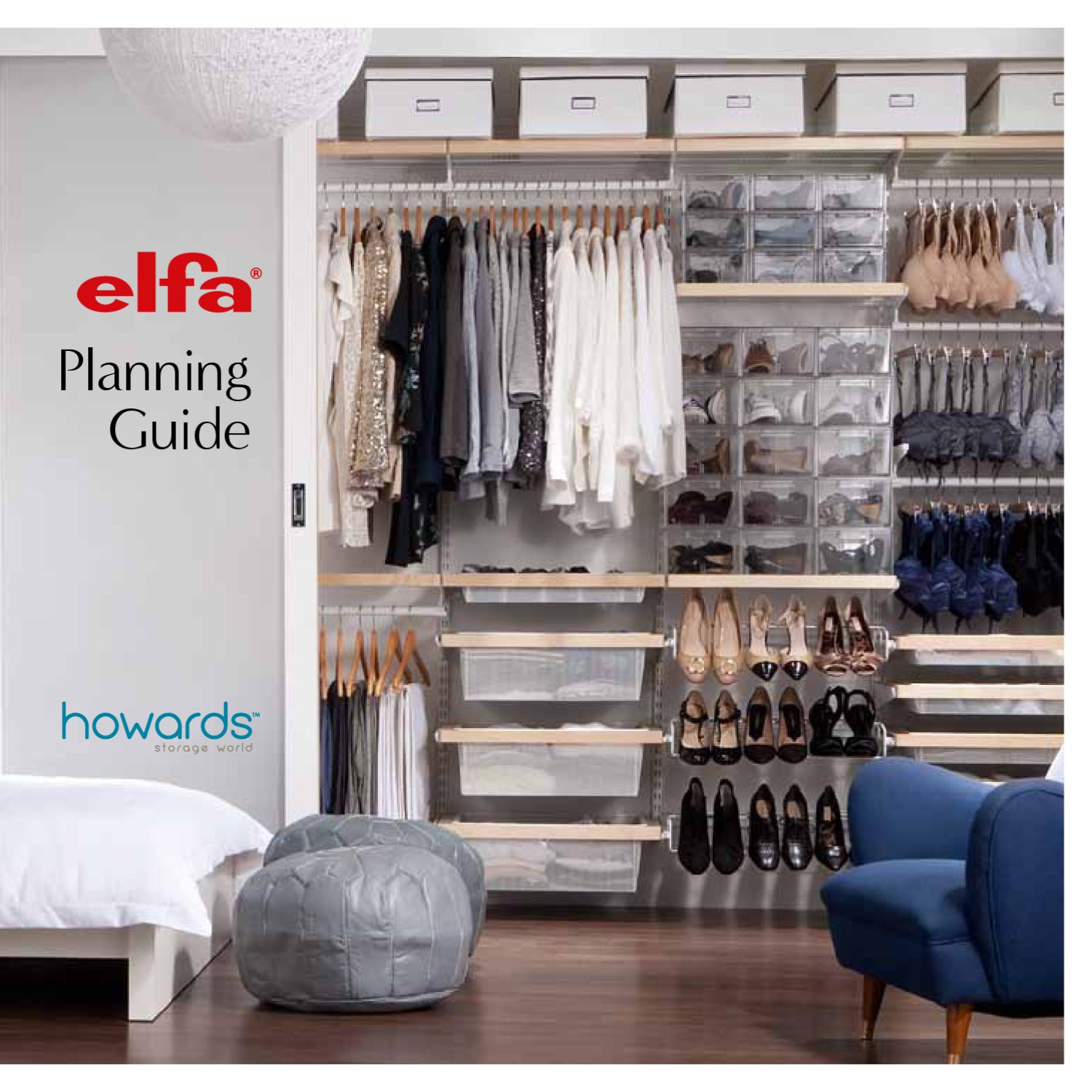 Elfa Planning Guide By Howards Storage World Aust Issuu