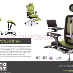 Office Chair Comfort Accessories Rocking Resort Ergo Mesh