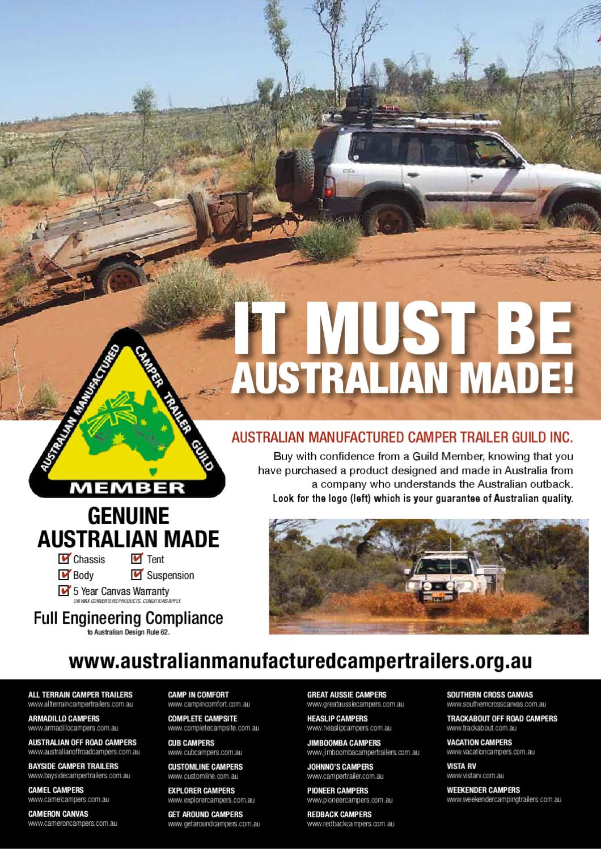 go camping australia issue