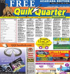 qq acadiana by part of the usa today network issuu saturn sl2 engine diagram 2003 saturn vue transmission harold s deli [ 1390 x 1500 Pixel ]