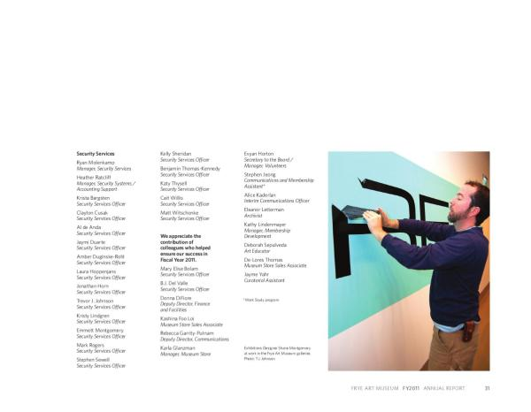 Frye Art Museum 2011 Annual Report - Issuu
