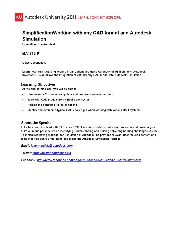 Autodesk 3d Format