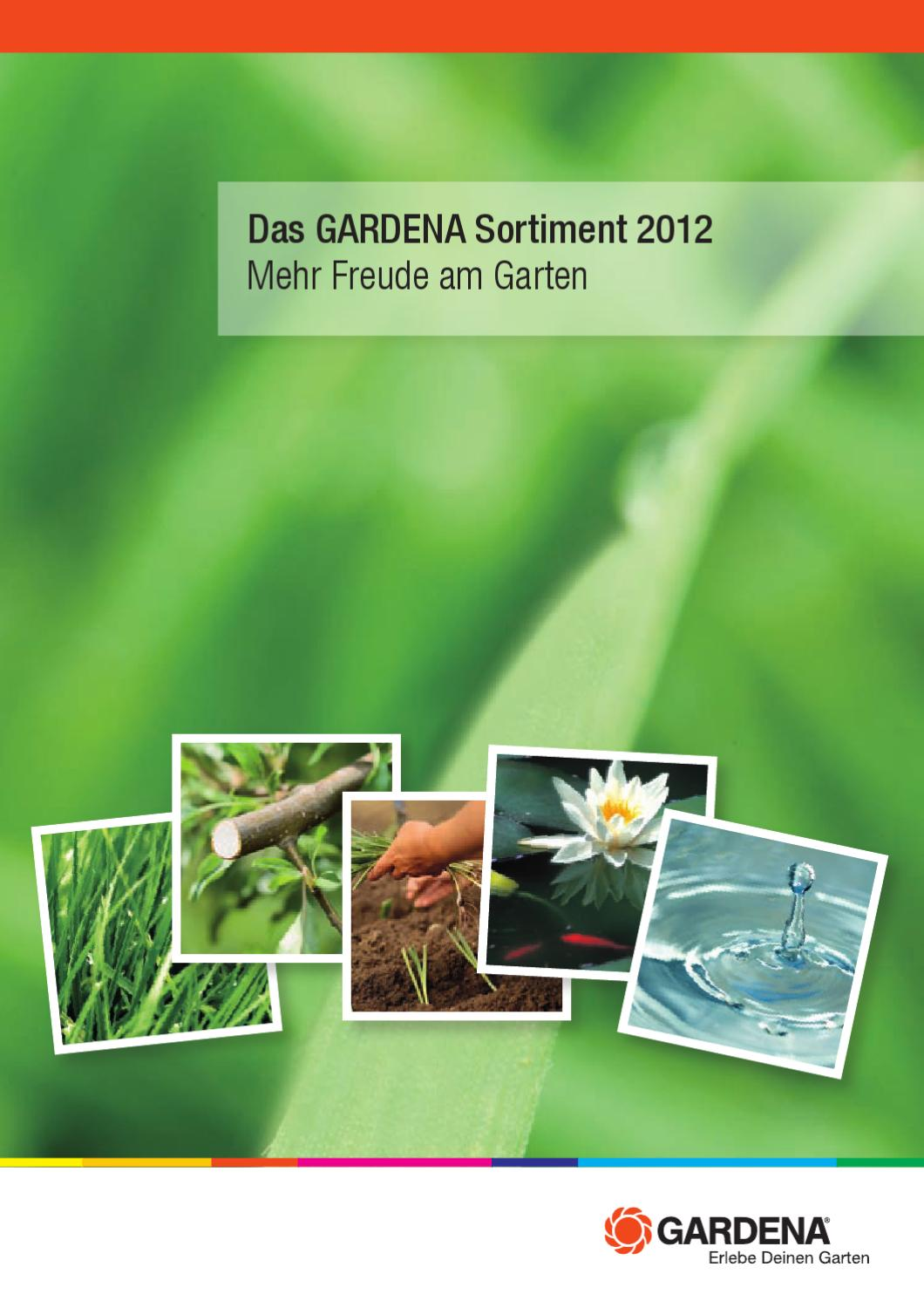 Gardena Assortment Brochure 2012 Austria By Husqvarna Ab Issuu