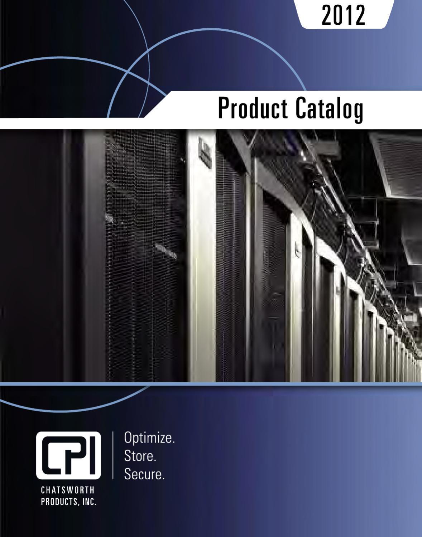 2012 cpi product catalog by chatsworth