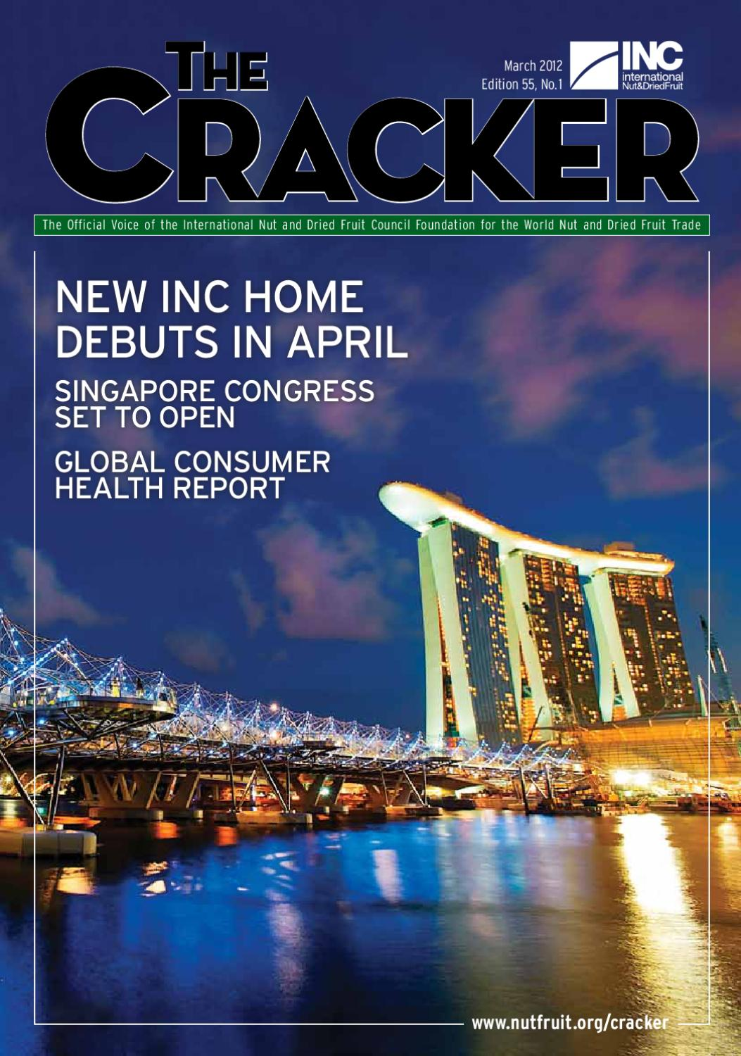 the cracker magazine march