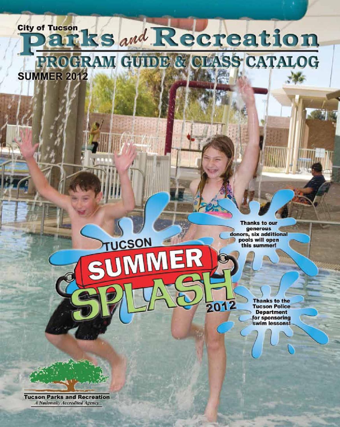 tucson parks and recreation program guide by Tucson Parks and Recreation  Issuu