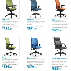 Desk Chair Lowers Itself Hanging Black Friday State Of Delaware Office Furniture Price Guide By