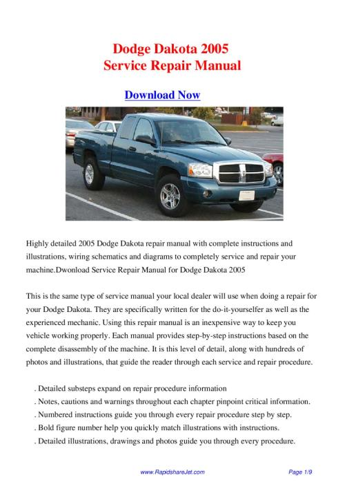 small resolution of 2005 dodge ram wiring diagram factory manual