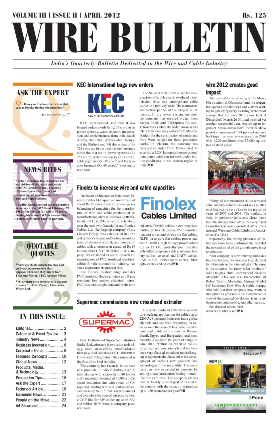 medium resolution of wire bulletin apr 12
